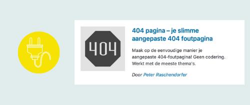 plugin om een 404 pagina foutpagina te maken | website, online leeromgeving, virtual assistant, webassistant