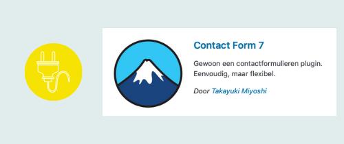 plugin voor een contactformulier op je website | website, online leeromgeving, virtual assistant, webassistant