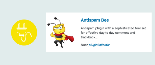 plugin om spam tegen te gaan | website, online leeromgeving, virtual assistant, webassistant