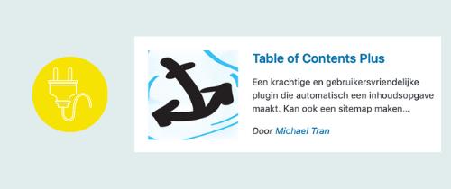 plugin om een inhoudsopgave te maken voor je blogs | website, online leeromgeving, virtual assistant, webassistant