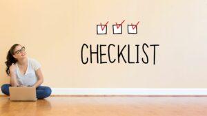 Hoe maak je een digitale checklist voor je online training? - online leeromgeving/online academie laten maken en technische ondersteuning bij je online programma