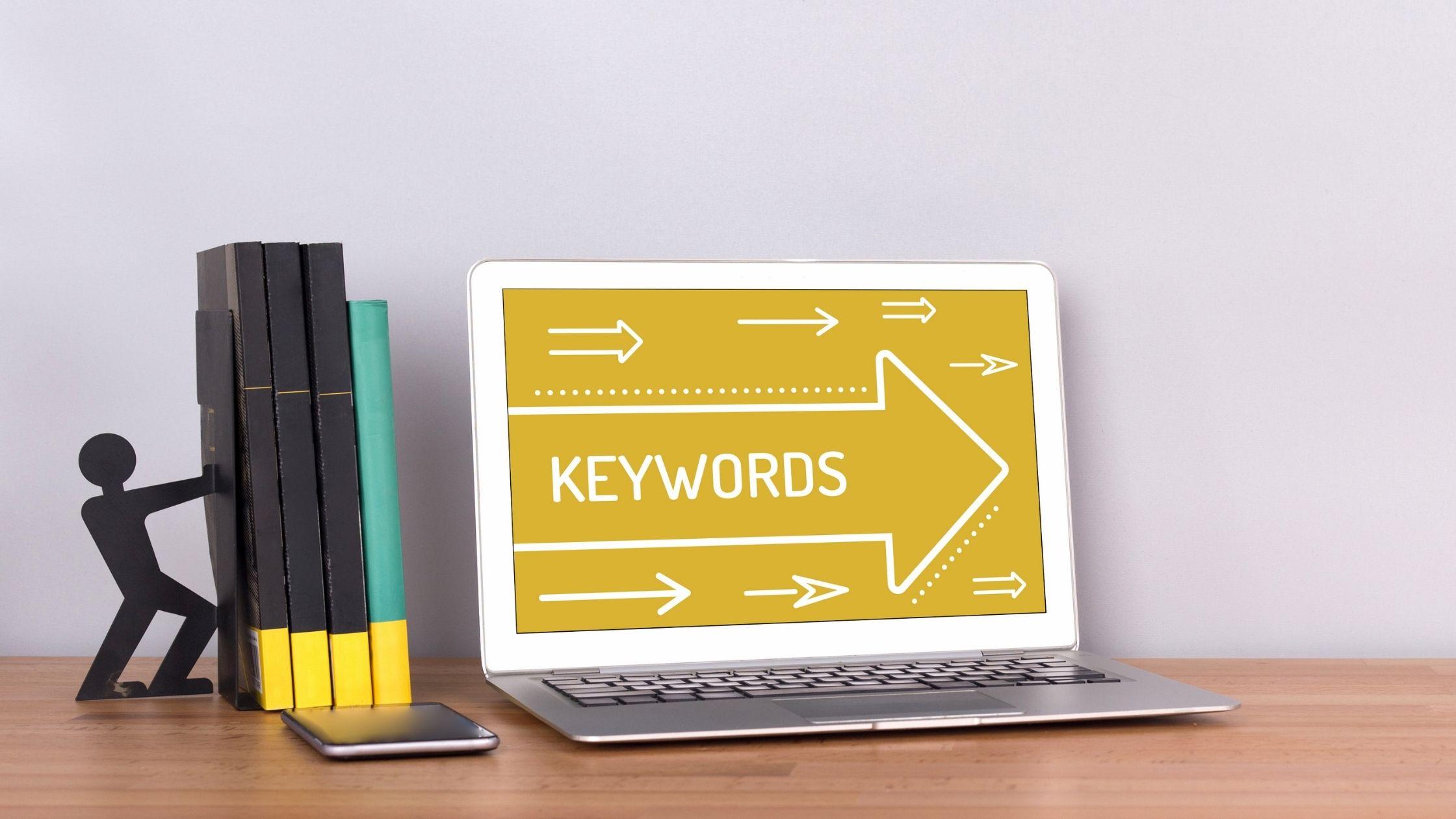 Zoekwoorden- of termen gebruiken om je salespage en blogs over je online training beter vindbaar te maken in Google - online leeromgeving/online academie laten maken en technische ondersteuning bij je online programma